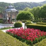 Historischer Garten Schloss Herberstein